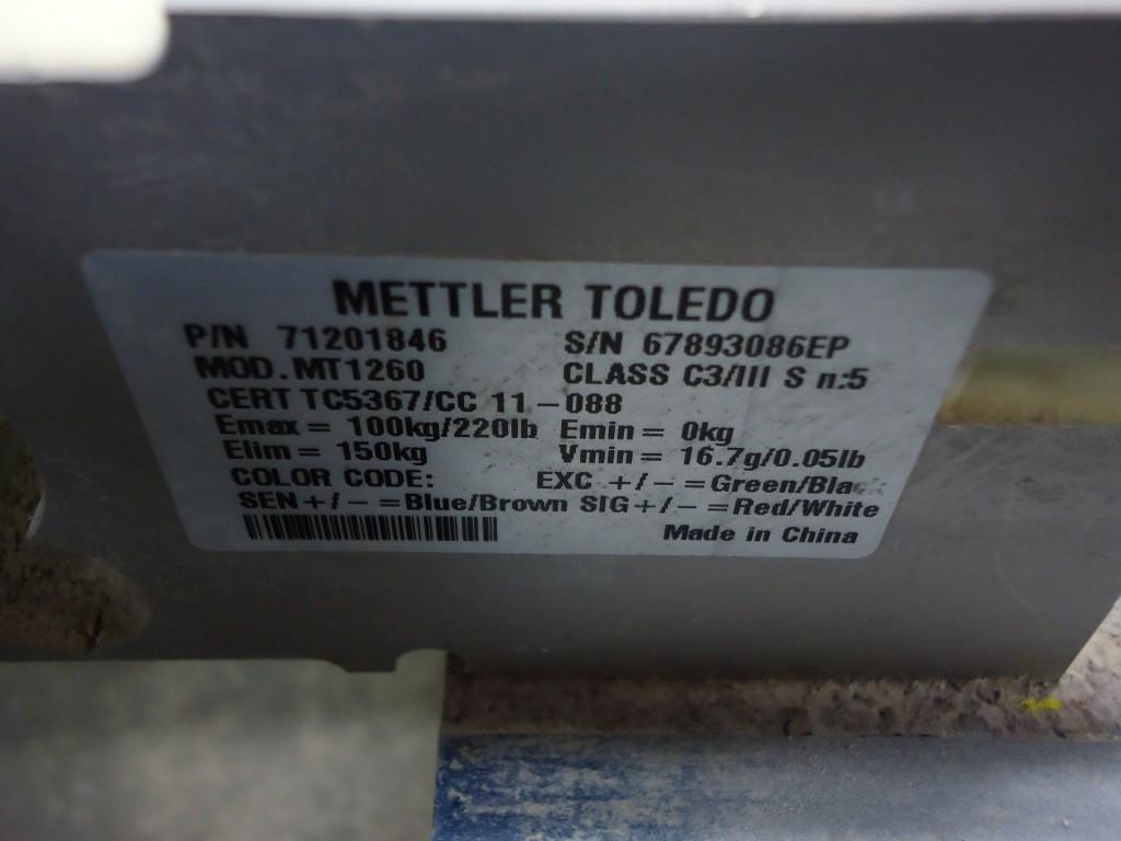 Mettler Toledo Portable Floor Scale 71201846 (Scales, Floor